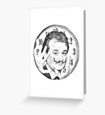groundhog day  x surrealism Greeting Card