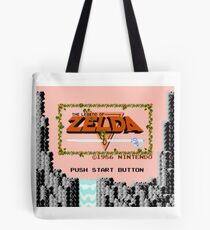 The Legend of Zelda - Title Screen Tote Bag