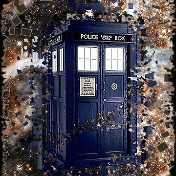 Police Box Tardis ~ Dr. Who by Twisted-Teez