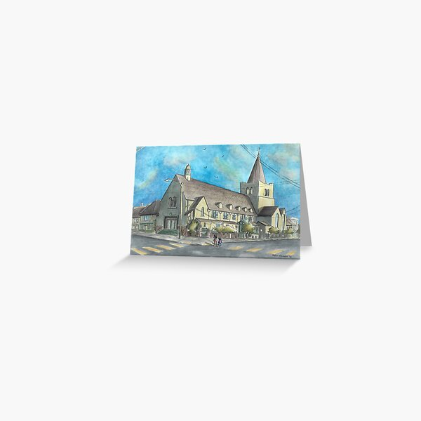 St Thomas, Late Afternoon Greeting Card