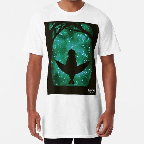 Stargazing In A Hammock Long T-Shirt
