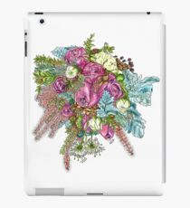 Roses & Dusty Miller iPad Case/Skin