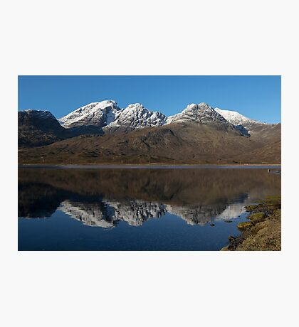 Bla Bheinn ( Blaven ) Reflections Photographic Print