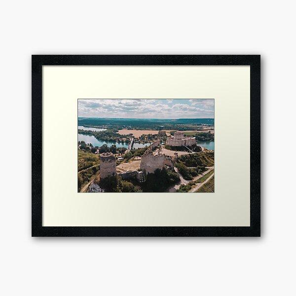 Les Andelys, France Framed Art Print