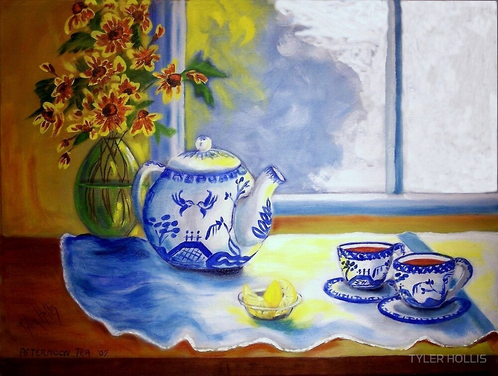 AFTERNOON TEA by TYLER HOLLIS