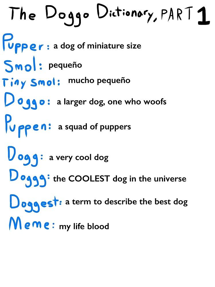 u0026quot the doggo dictionary  part 1  a smol pupper comic u0026quot  by acohen110