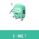 B-Mine - Anniversary Day Card by NerdCat