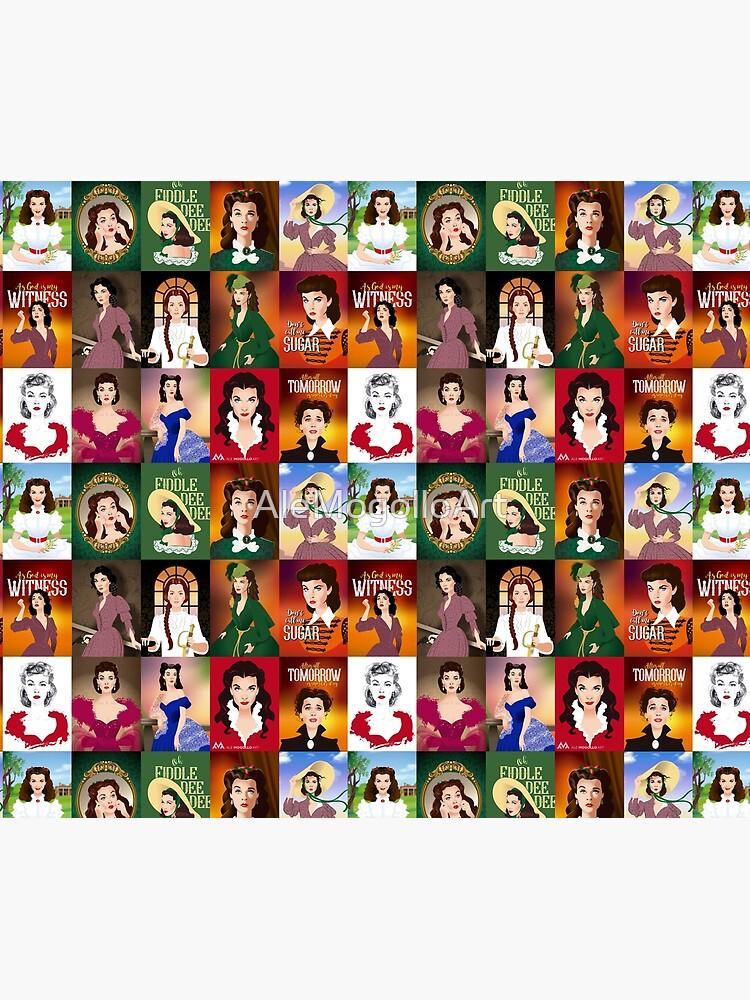 Scarlett patchwork by AleMogolloArt