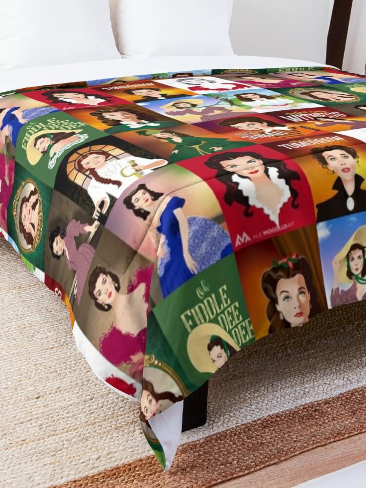 Alternate view of Scarlett patchwork Comforter