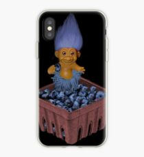 ✾◕‿◕✾ TROLL LOVING BLUEBERRIES VARIOUS APPAREL✾◕‿◕✾ iPhone Case