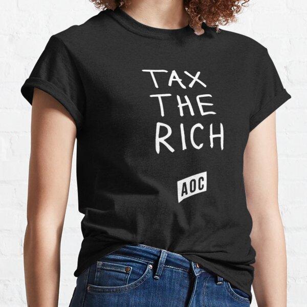 Aoc Tax The Rich Classic T-Shirt