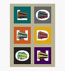 London Double Decker Photographic Print