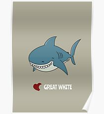 Love Great white Poster