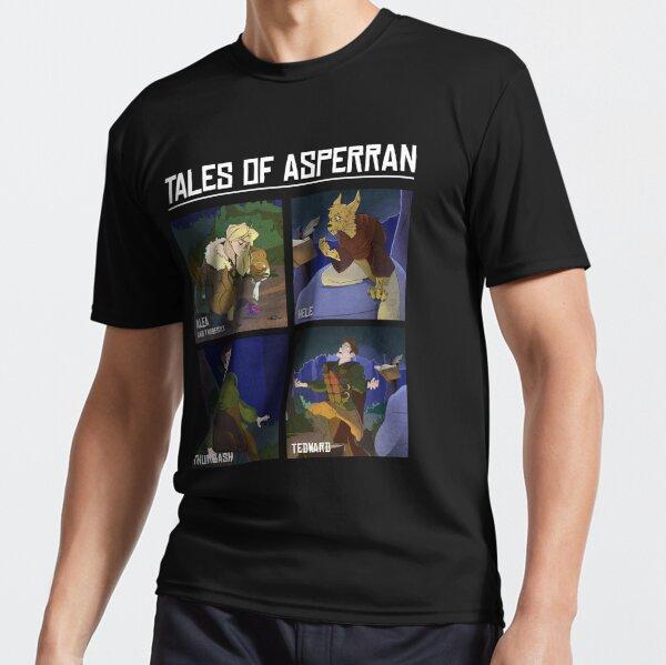 Adventurers of Asperran Active T-Shirt