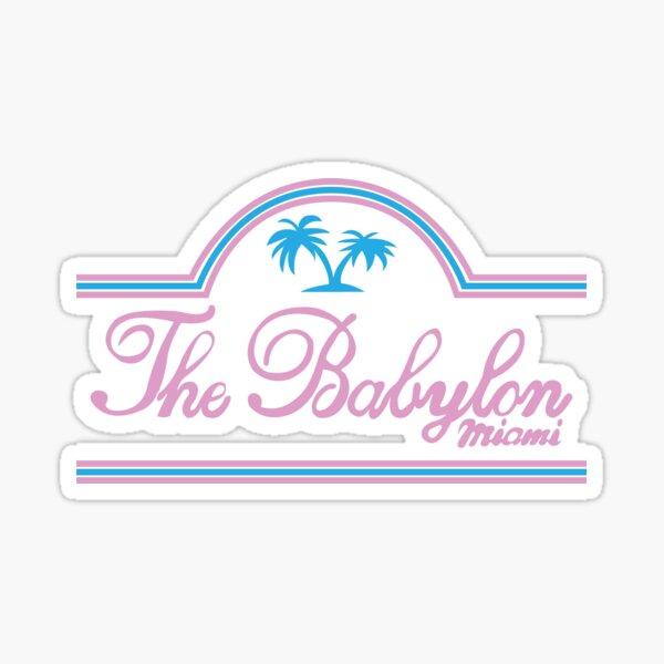 La Babylone Sticker