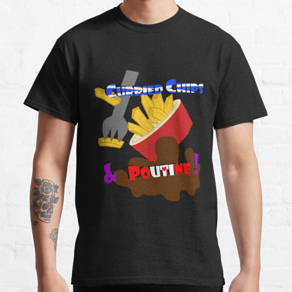 Just the chips, please! (transparent) Classic T-Shirt