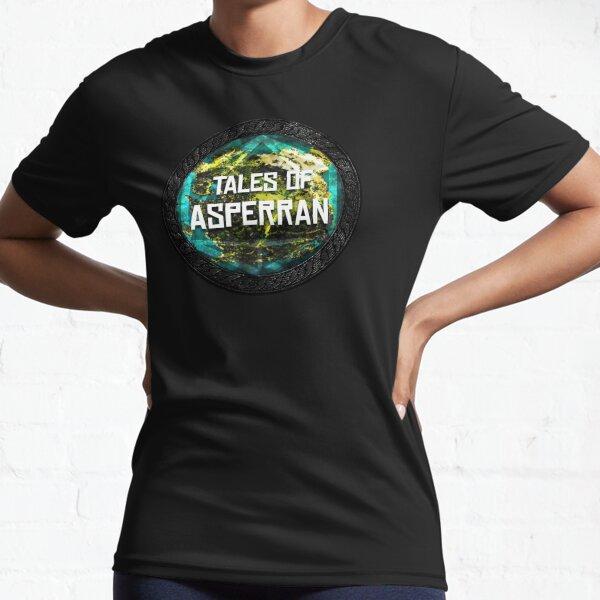 Tales of Asperran Logo Active T-Shirt