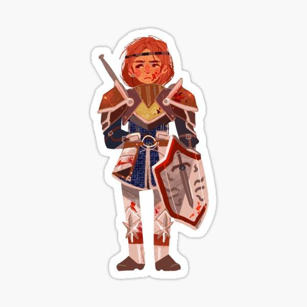 Aveline Dragon Age Sticker Sticker