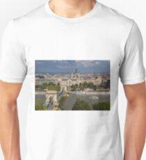 River Danube, Budapest Unisex T-Shirt