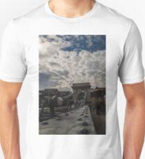 Looking Down the Bridge Unisex T-Shirt