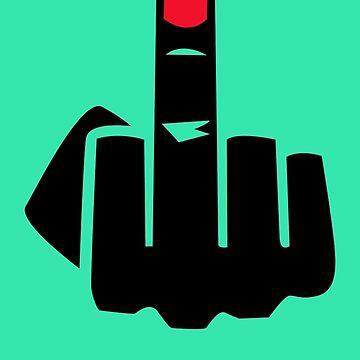 Middle finger by samrodina