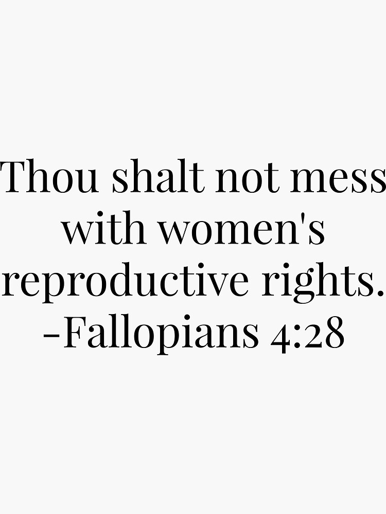 Women's Reproductive Rights - Fallopians  by herizon