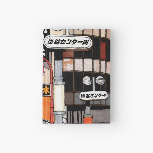 Tokyo Street Signs Hardcover Journal