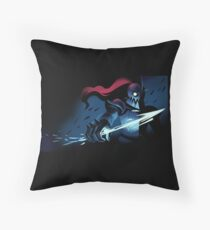 Undertale: Undyne the Undying Throw Pillow
