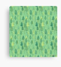 I LIKE TREES Canvas Print