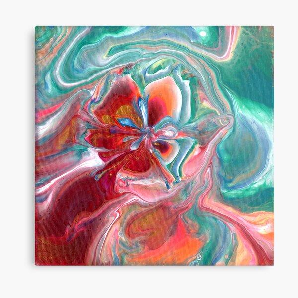 Dancing Flower Metal Print