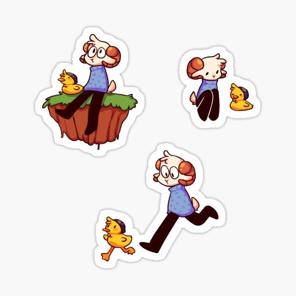 Jschlatt and Quackity  Sticker