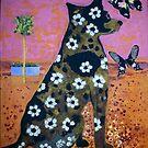 Dreaming Dog by Redlady