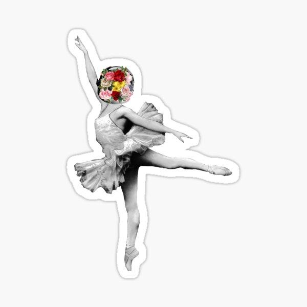 Space Ballerina Cutout Sticker