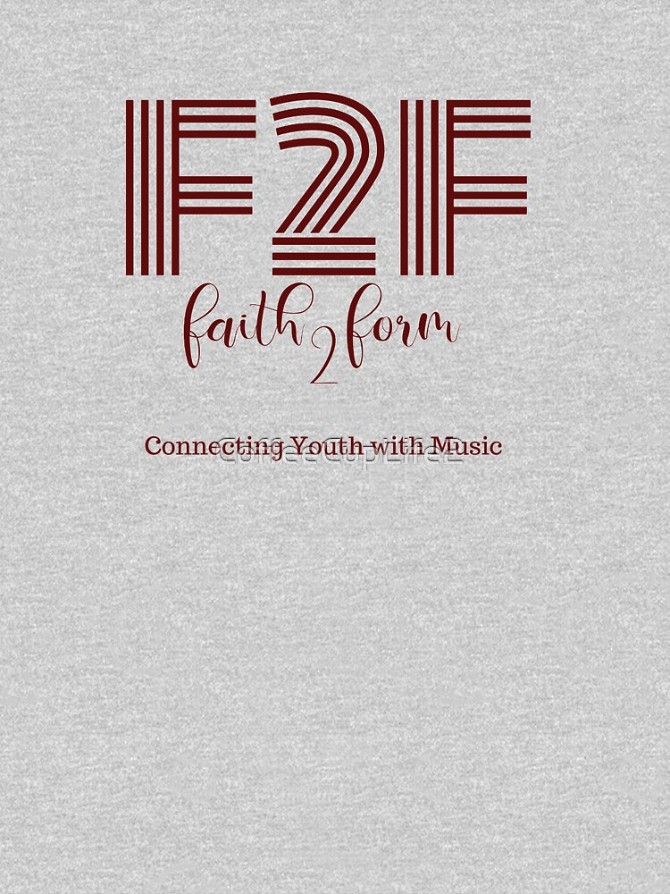 Faith 2 Form Logo Gear by CoffeeCupLife2