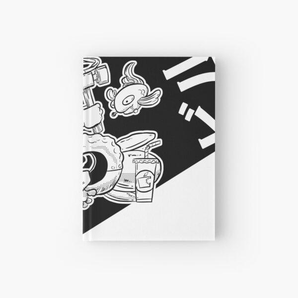 CeanNine building-black Hardcover Journal