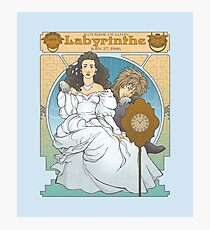 Labyrinthe Photographic Print