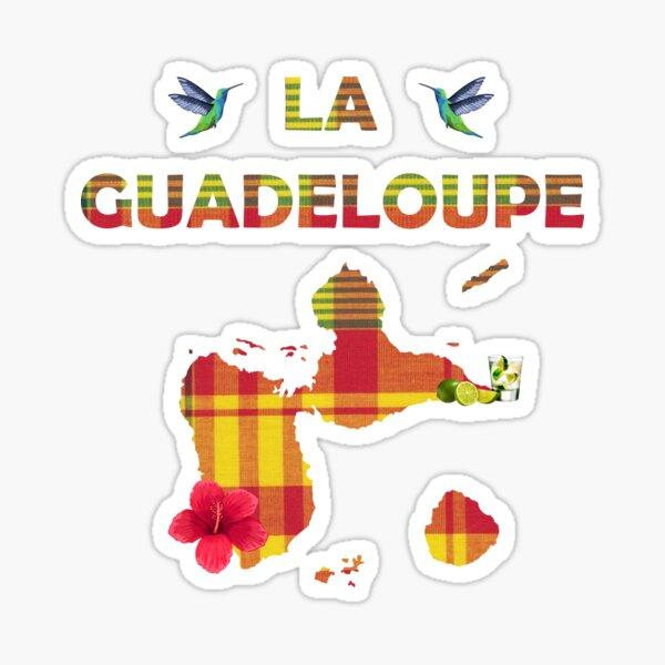 Guadeloupe Ile des Caraïbes Sticker