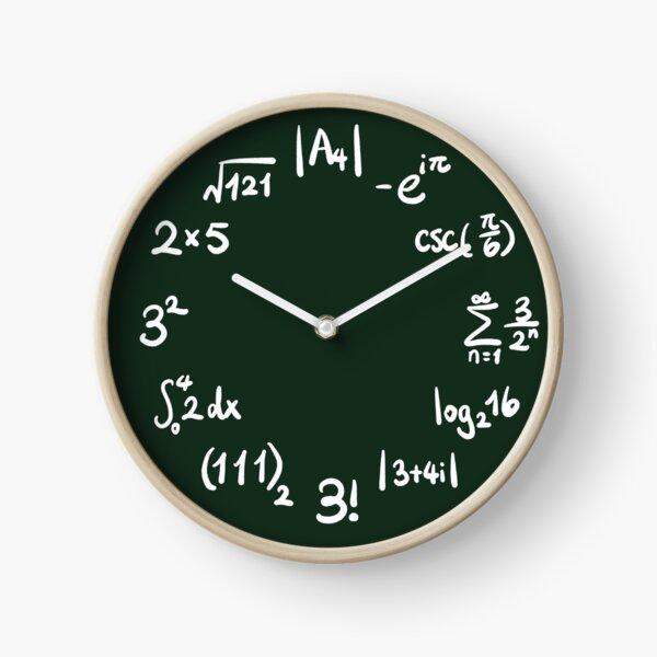 The circle of math Clock
