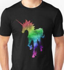 Rainbow Galaxy Unicorn T-Shirt