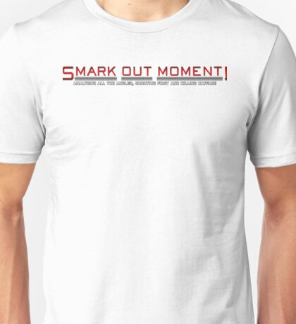 Smark Out Moment Logo (Red) T-Shirt