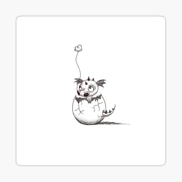 Baby Dragon Sticker