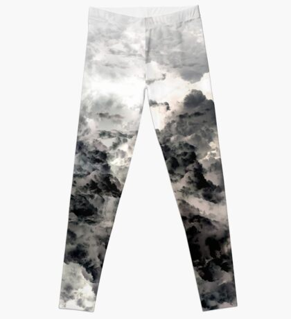 Above the Clouds - white Leggings