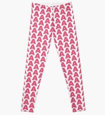 A pink Leggings