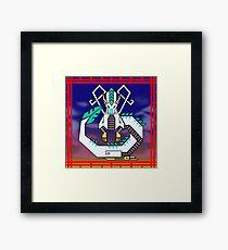 Haku Framed Print