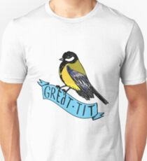 Great Tit Unisex T-Shirt