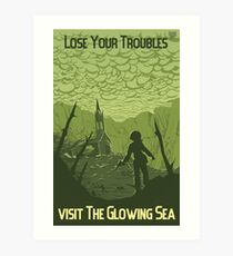 Lose Your Troubles Art Print