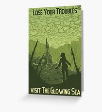 Lose Your Troubles Greeting Card