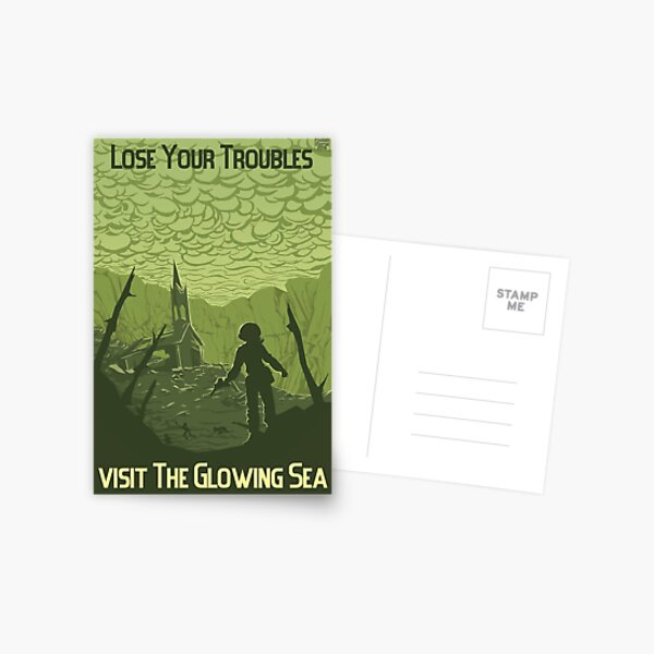 Lose Your Troubles Postcard
