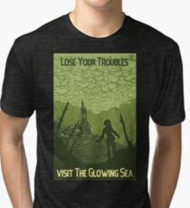 Lose Your Troubles Tri-blend T-Shirt