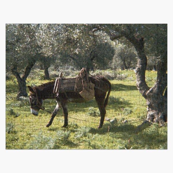 Cretan Donkey Jigsaw Puzzle